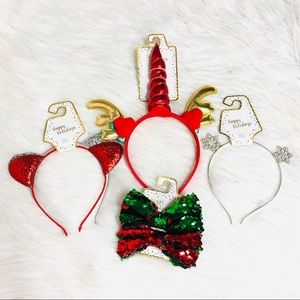Other - Christmas Holiday Hair Accessories
